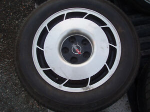 1986 corvette wheels + tires
