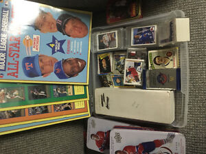 Sports cards collection
