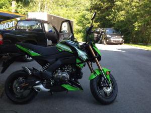 FS: Kawasaki Z125 Pro KRT