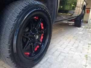 20 inch moto metal on cooper tires