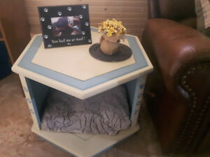 Coffee table-dog bed