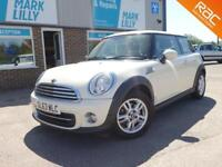 2013 Mini Mini 1.6 ( 122bhp ) ( Sport Chili ) Cooper WHITE ONLY 47K 1 OWNER