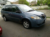 2004 Mazda MPV Family Van - Air Conditioning, Runs Great-Loaded