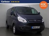 2014 FORD TRANSIT CUSTOM 2.2 TDCi 125ps 290 Short Wheelbase Low Roof Limited Van