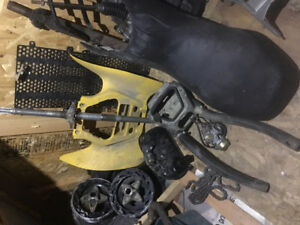 pieces vtt sport bombardier ds 650