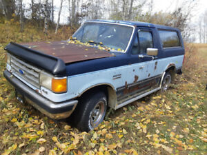 1987 Ford Bronco (full size)