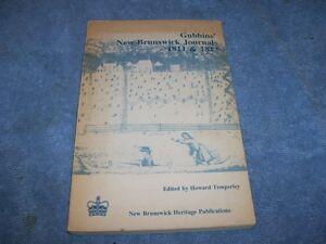 Book  1811 1813 Gubbins New Brunswick Journals