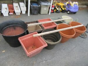 PLANT POTS - EXTRA LARGE SIZES - REDUCED!!!!