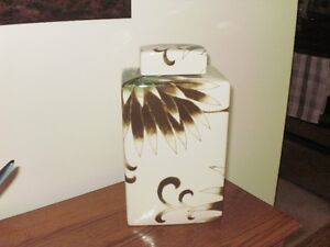 Covered Jar ....Bombay Co.