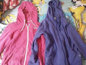 2 Girls Zip-up Jackets