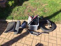 Job lots of pit bike pitbike dirt bike off road parts spare and repairs