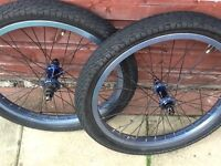 Wethepeople or custom bmx wheels