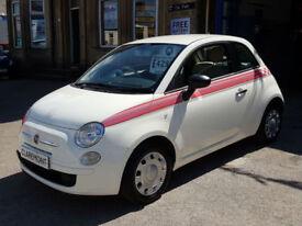 FIAT 500 1.2 POP,2012 '12' REG,57,000 MILES,12 MONTHS MOT.
