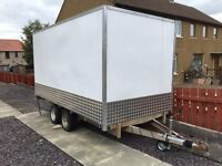 Ivor Williams 1998/1999, 4 wheel box trailer: or swaps