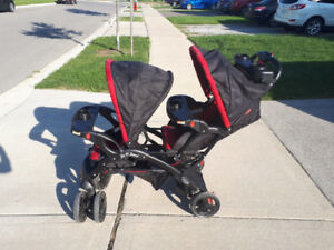 Double Stroller - Sit and Stand by Baby Trends