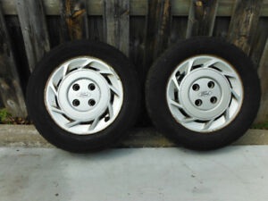 Ford Focus winter tires and rims