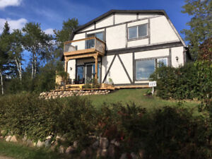 Lake House for Sale: at Tillicum Beach, 15 min. SE of Camrose
