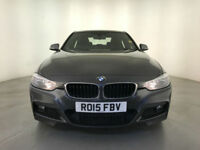 2015 BMW 318D M SPORT AUTOMATIC DIESEL SALOON SAT NAV 1 OWNER SERVICE HISTORY