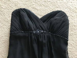 Little black dress - altered to size 2