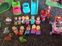 Happyland people and accessories