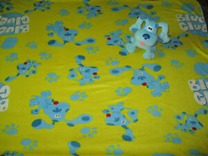 Blues Clue blanket and plush toy Kitchener / Waterloo Kitchener Area image 1