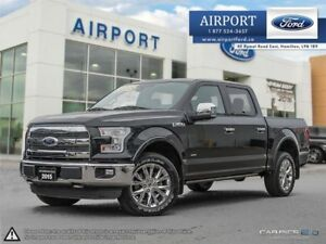 2015 Ford F-150 Lariat 4X4 FX4 with only 41,203 kms