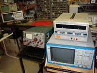 Huntron Trackers Oscilloscopes and other electronic Repair
