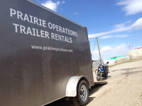 Trailers for rent - Utility trailer and Cargo trailer rentals !