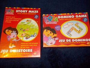 2 Dora the Explorer games--one is brand new (factory sealed)
