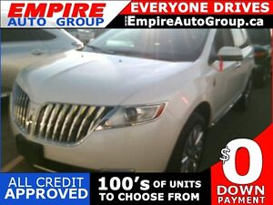 2013 LINCOLN MKX BASE * NAVIGATION * LEATHER * BACKUP CAMERA * A