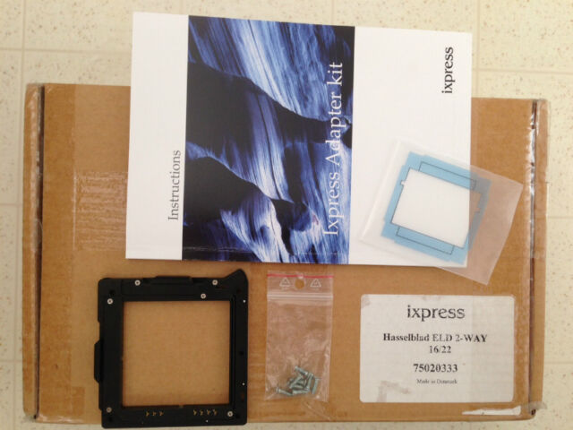 Hasselblad Ixpress Adapter kit for ELD 2-way for V body