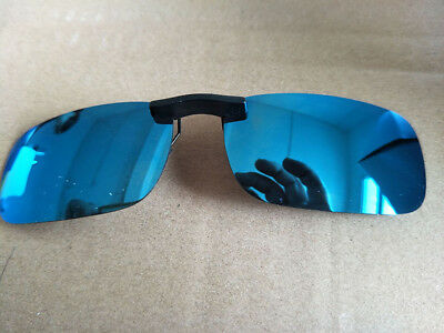 Polarized Clip On Sunglasses Driving Day Night Vision Lens Unisex Fishing