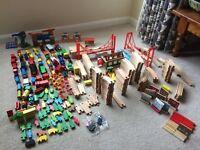 Model wooden train set and toys, Thomas, brio, ikea, elc, tesco etc
