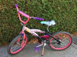 Vélo pour enfant Fée Clochette 18po