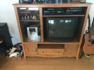 Entertainment stand and TV