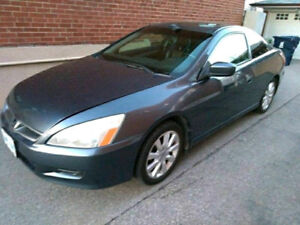 2007 HONDA ACCORD COUPE EX-L 3.0L V6 - POWER HEATED LEATHER SEAT