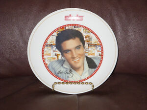 Elvis Presley Collectors Plate