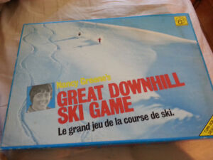 NANCY GREENE GREAT DOWNHILL SKI GAME