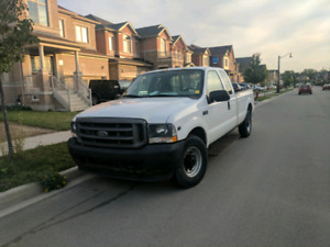 2002 Ford F250 Superduty Long Bed Crew Cab