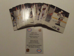 SERIE DE 47 CARTES DE HOCKEY DE ESSO ALL STAR COLLECTION 1988-89