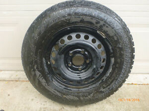 205/70R15 Winter Tires with Rims