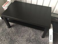 Black IKEA Coffee Table