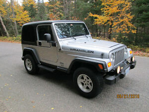 2005 Jeep TJ Trail rated 4X4 Wrangler