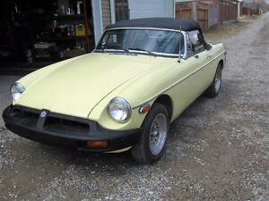 MGB Convertible Roadster