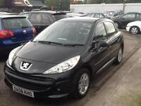 Peugeot 207 1.4 VTi 95 ( a/c ) S FINANCE AVAILABLE WITH NO DEPOSIT NEEDED