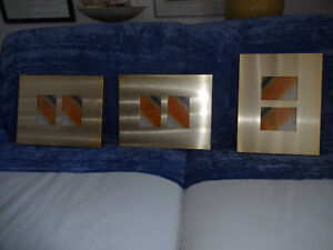 Metal Gold Coloured Picture Frames