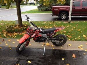 2011 Orion 125cc 4-stroke dirtbike