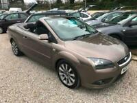 2007 Ford Focus CC 2.0 TDCi CC-2 3dr Hard Top Convertible 1 Owner