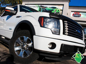'12 Ford F-150 FX4 Supercrew+NAV+HeatedLeather+Roof! $192/Pmts!