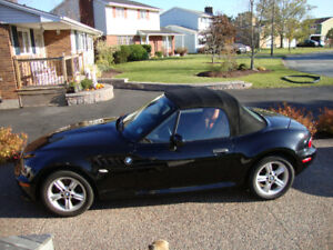 2000 Z3 2.3 Black with 62500KM Very Good Condition